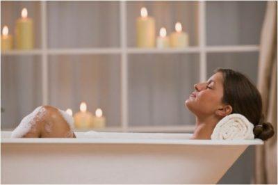 お風呂で代謝を上げる